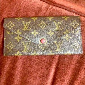 Louis Vuitton's Emelie Wallet